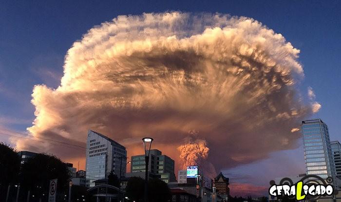 Fotografias incríveis mostram a erupção do vulcão Calbuco10