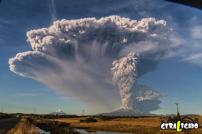 Fotografias incríveis mostram a erupção do vulcão Calbuco14