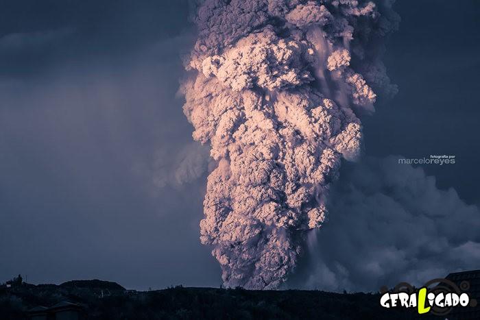 Fotografias incríveis mostram a erupção do vulcão Calbuco3