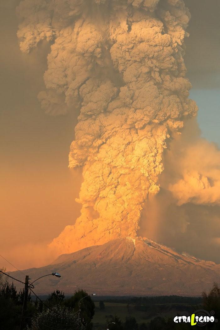 Fotografias incríveis mostram a erupção do vulcão Calbuco5