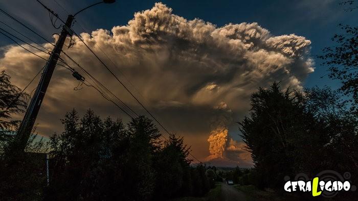 Fotografias incríveis mostram a erupção do vulcão Calbuco7