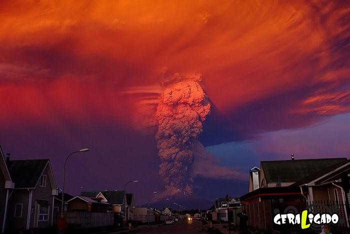 Fotografias incríveis mostram a erupção do vulcão Calbuco9