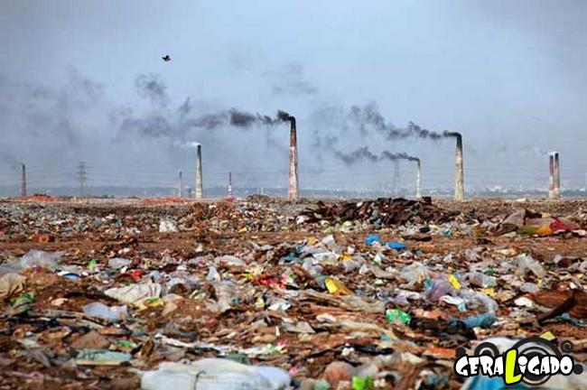 Imagens de cortar o coração mostram a devastação humana ao meio ambiente27