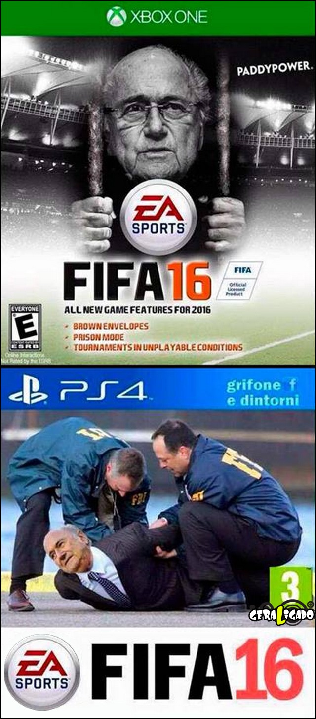 1 Vazaram as capas do Fifa 16