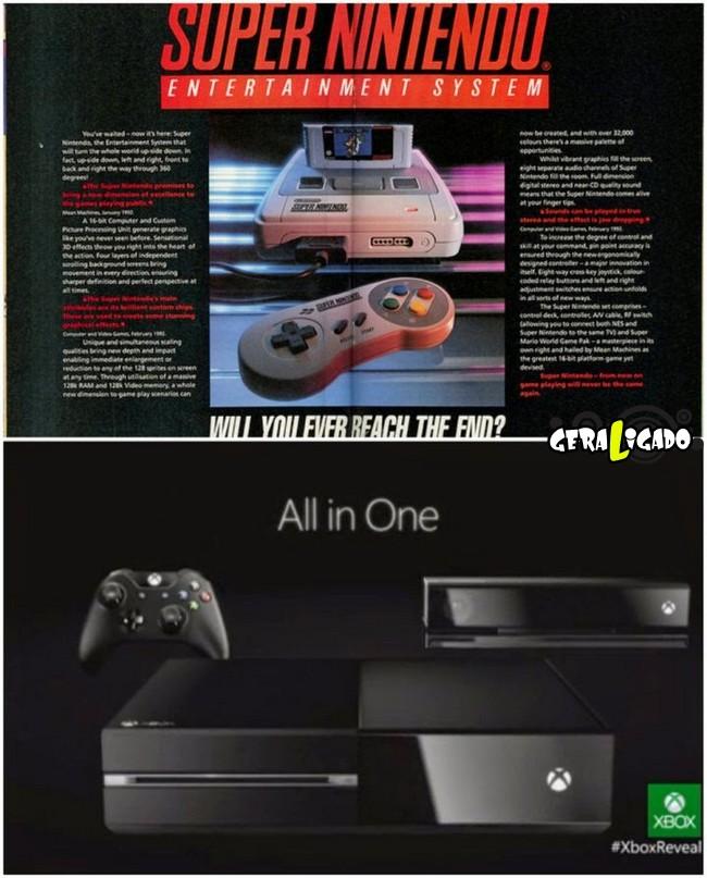 Anúncios que mostram a incrível evolução dos produtos eletrônicos13