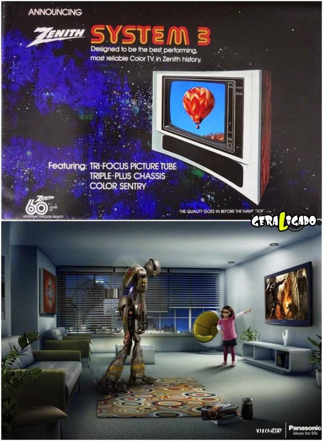 Anúncios que mostram a incrível evolução dos produtos eletrônicos14
