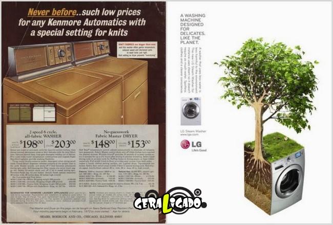 Anúncios que mostram a incrível evolução dos produtos eletrônicos15