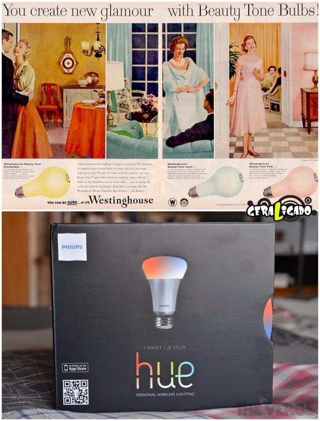 Anúncios que mostram a incrível evolução dos produtos eletrônicos16