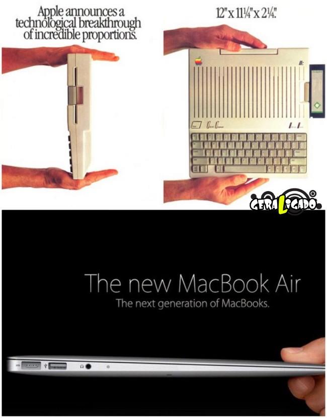 Anúncios que mostram a incrível evolução dos produtos eletrônicos2