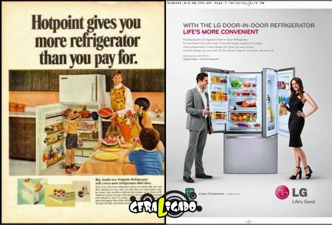 Anúncios que mostram a incrível evolução dos produtos eletrônicos3