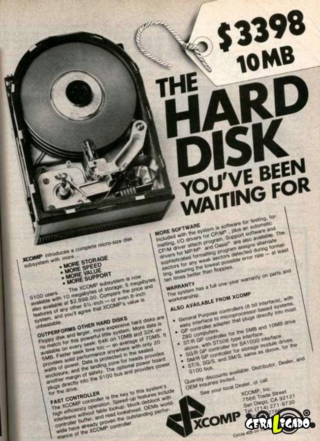 Anúncios que mostram a incrível evolução dos produtos eletrônicos4