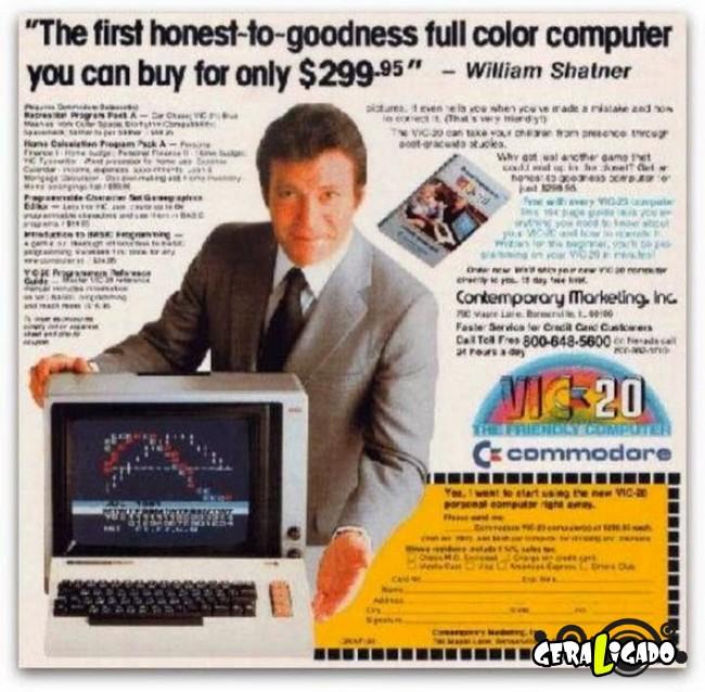 Anúncios que mostram a incrível evolução dos produtos eletrônicos7