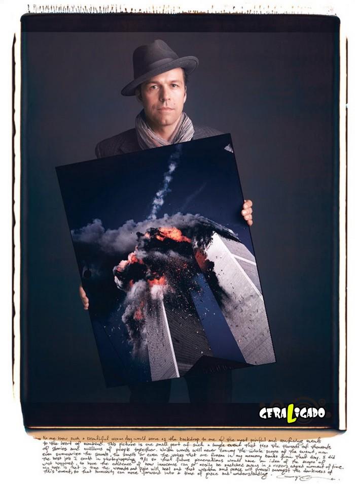 Fotógrafos famosos posando com suas imagens icônicas3