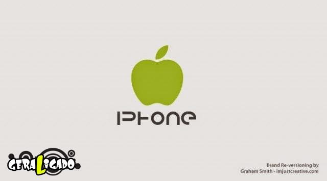 Uma louca mistura de logos de marcas concorrentes16