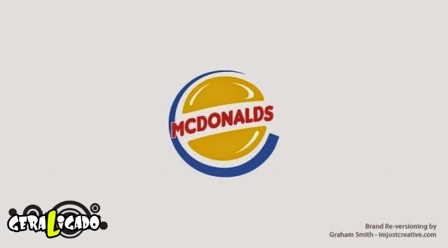 Uma louca mistura de logos de marcas concorrentes18