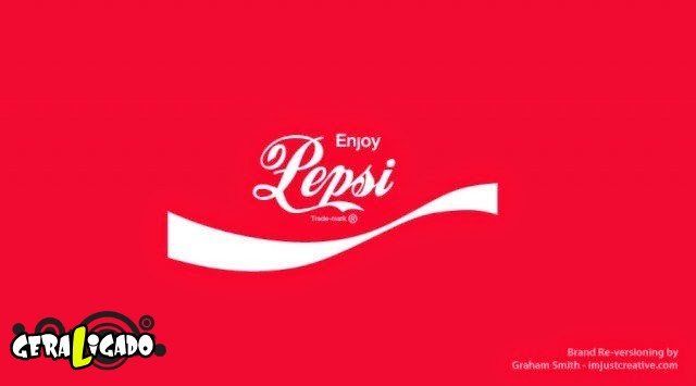 Uma louca mistura de logos de marcas concorrentes22