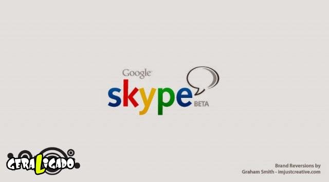 Uma louca mistura de logos de marcas concorrentes24