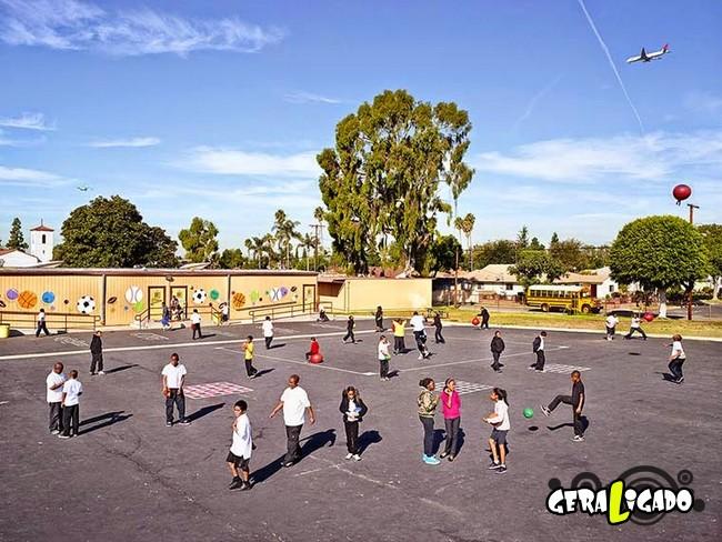 Veja como é o recreio nas escolas de diversos países do mundo14