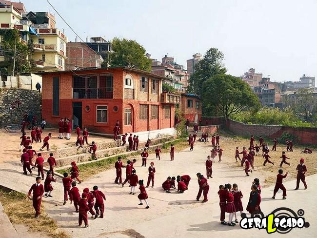 Veja como é o recreio nas escolas de diversos países do mundo16