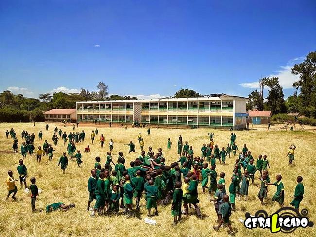 Veja como é o recreio nas escolas de diversos países do mundo20