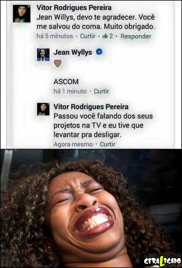 1 Jean Willys, deve te agradecer SQN