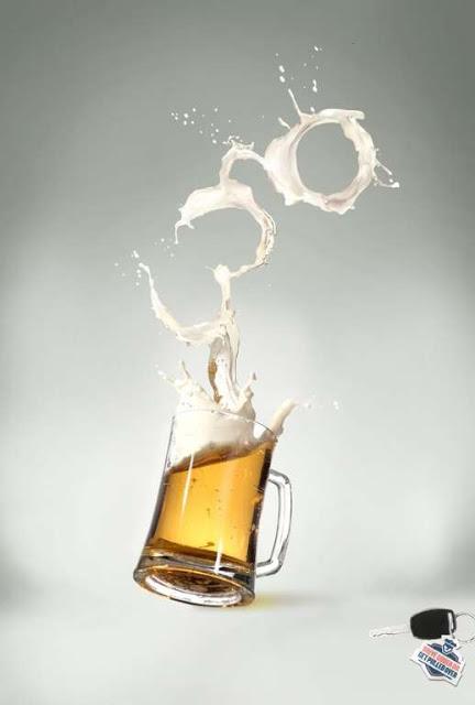 23 propagandas chocantes contra o álcool ao volante