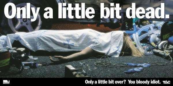 23 propagandas chocantes contra o álcool ao volante17