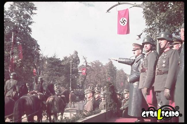 25 fotografias coloridas da Invasão da Polônia10