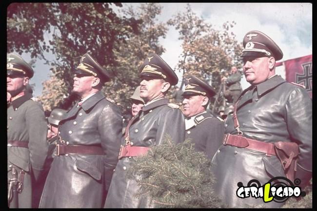 25 fotografias coloridas da Invasão da Polônia11