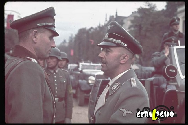 25 fotografias coloridas da Invasão da Polônia12