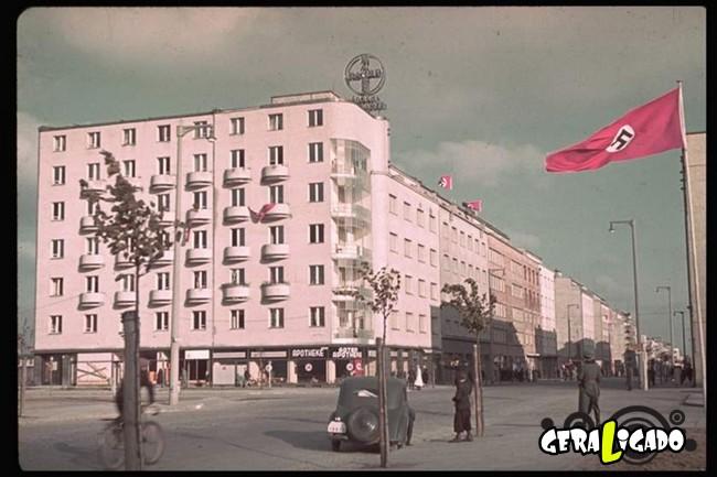 25 fotografias coloridas da Invasão da Polônia15