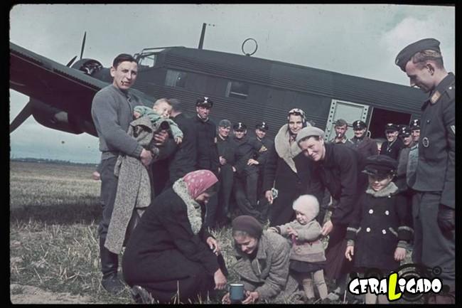 25 fotografias coloridas da Invasão da Polônia16
