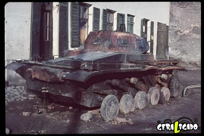 25 fotografias coloridas da Invasão da Polônia2