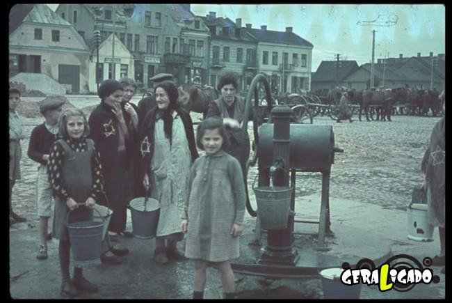 25 fotografias coloridas da Invasão da Polônia20