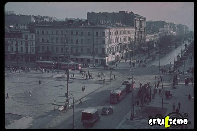 25 fotografias coloridas da Invasão da Polônia24