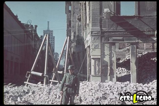 25 fotografias coloridas da Invasão da Polônia4