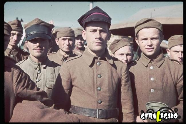 25 fotografias coloridas da Invasão da Polônia7