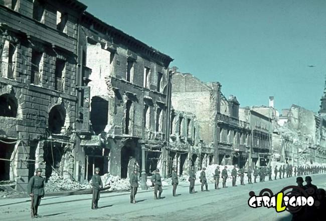 25 fotografias coloridas da Invasão da Polônia8