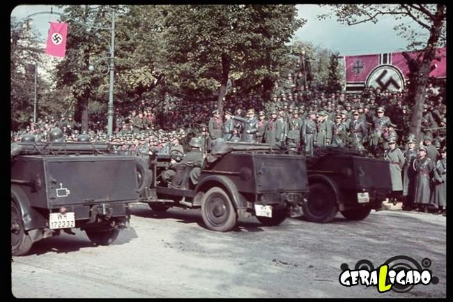 25 fotografias coloridas da Invasão da Polônia9