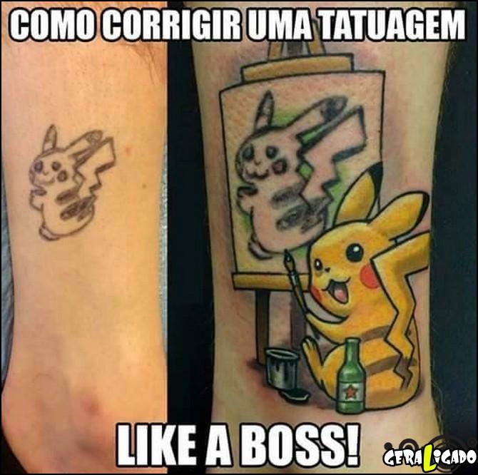 3 Como corrigir uma tatuagem