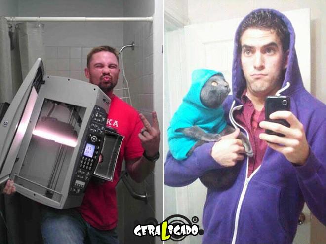 As selfies mais bizarras de todos os tempos.12
