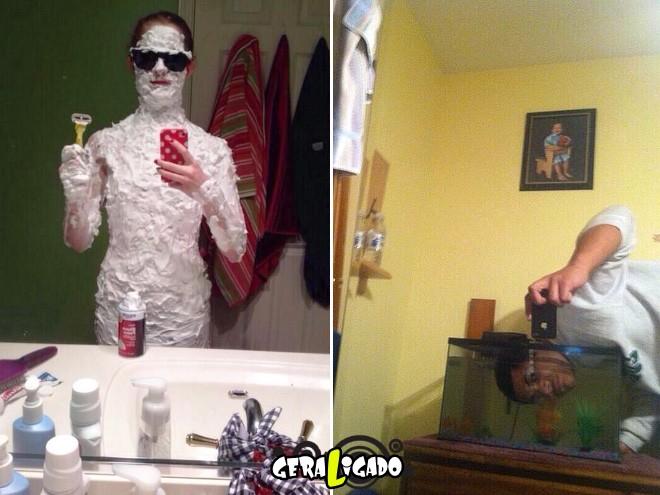As selfies mais bizarras de todos os tempos.14