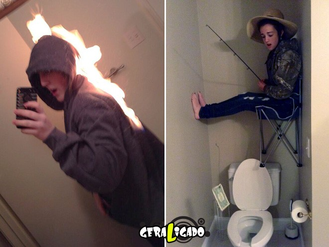 As selfies mais bizarras de todos os tempos.5