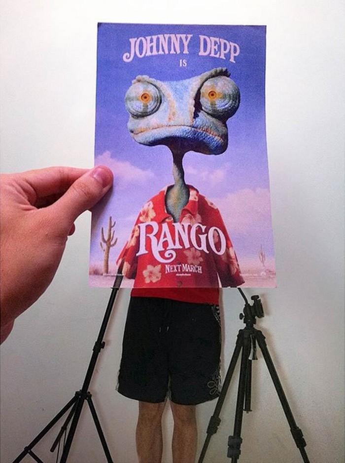 Deturpando capas de filme com um pouco de realidade e humor17