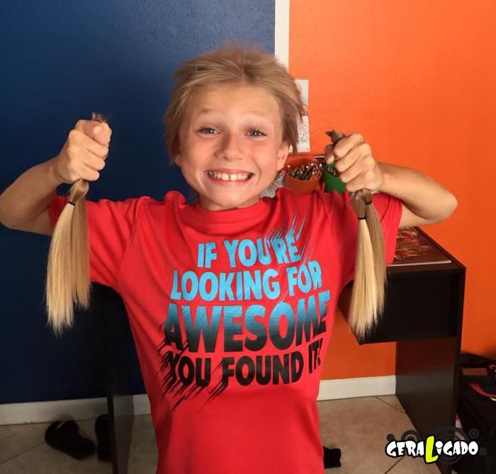 Linda atitude desse garotinho de 8 anos!7