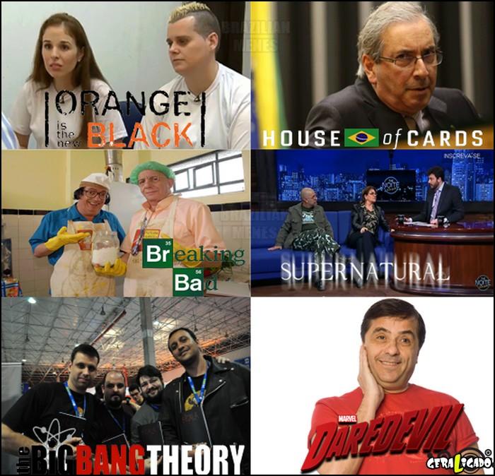 2 As melhores séries brasileiras