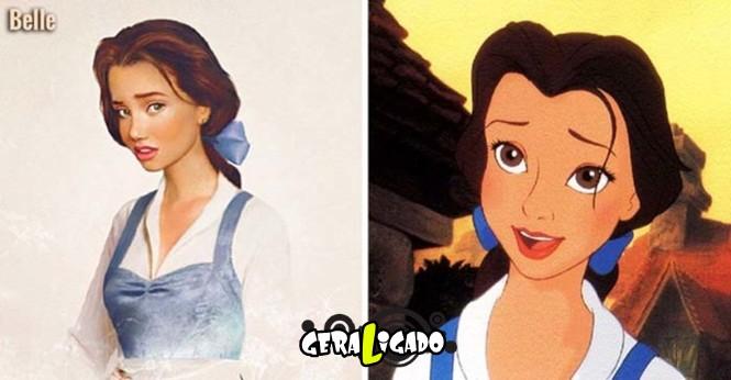 20 princesas da Disney de um jeito que você nunca viu18
