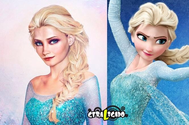 20 princesas da Disney de um jeito que você nunca viu19