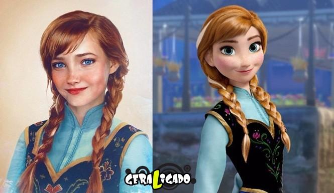20 princesas da Disney de um jeito que você nunca viu20