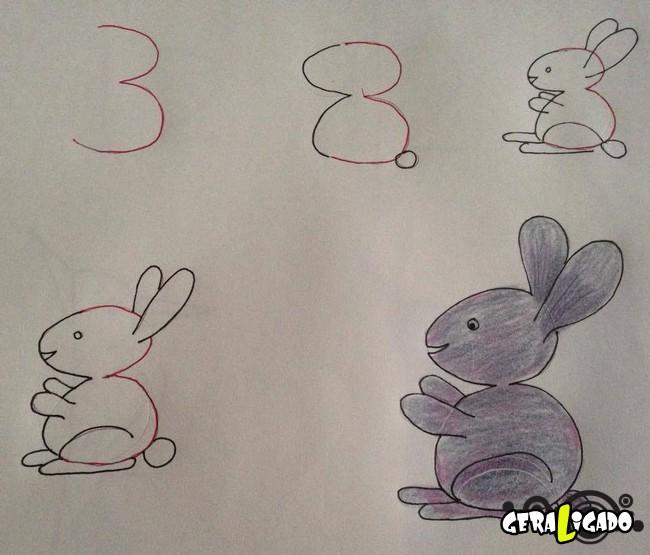 Criando desenhos com numeros 1